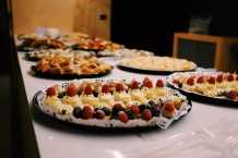 Desserts on the food table