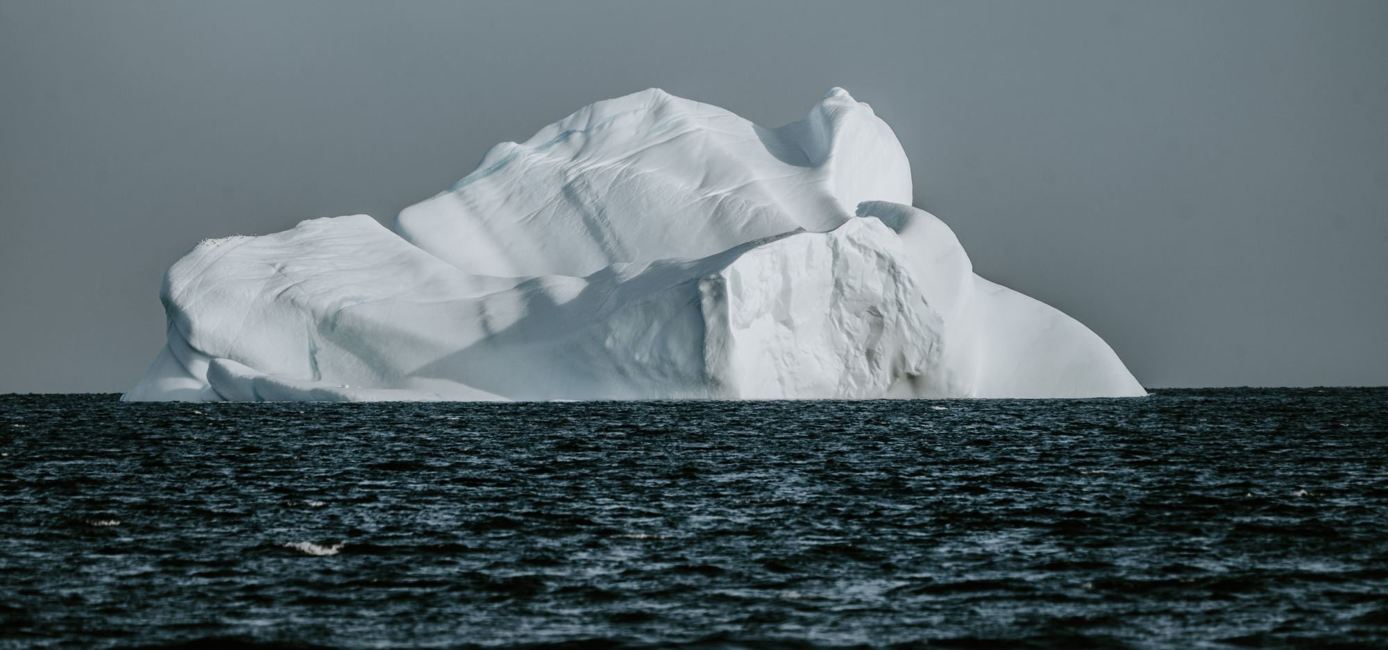 Iceberg in Arctic Ocean.