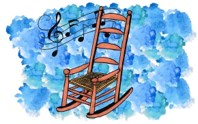 """Illustration by Kate Gavino for """"The Boom Boom Song"""" by Richard Gilbert"""