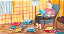 """Illustration by Giselle Potter for """"My Bad Parenting Advice Addiction"""" by Emily Gould"""